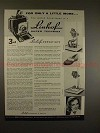 1956 Linhof Super Technika Camera Ad - Versatility!!
