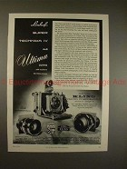 1959 Linhof Super Technika IV Camera Ad - Ultima Outfit