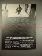 1969 Mamiya Super 23 Camera Ad - If Pass a Law Against!