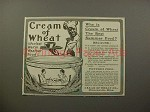 1900 Cream of Wheat Ad w/ Rastus - Best Summer Food