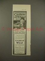1900 Cream of Wheat Ad - Three Times a Day