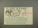 1900 Asbestine Ad w/ Speare's Paint Man - 75% Cheaper
