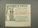 1900 Asbestine Ad w/ Speare's Paint Man - Grafting