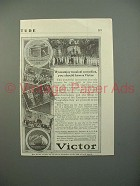 1913 Victor Victrola IV Phonograph Ad, Musical Comedies