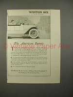 1914 Winton Six Car Ad - The American Beauty