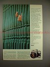 1972 Minolta SR-T 101 Camera Ad - Two Little Hands!!