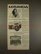 1961 Miranda Automex Camera Ad - Miranda is many things to men!