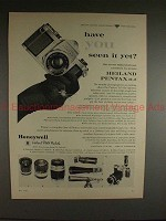 1960 Heiland Pentax H-2 Camera Ad - Have You Seen it?!