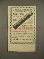1897 Marlin Gun Ammunition 45-70 Cartridge Ad!