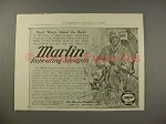 1909 Marlin Repeating Shotgun Gun Ad - Don't Worry