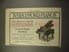 1916 Ivers & Pond Princess Grand Style 93 Piano Ad!