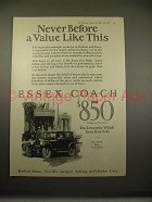 1925 Essex Coach Car Ad - Never a Value Like This!