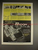 1958 Ricoh 519 Camera Ad - So Much More For Much Less!!