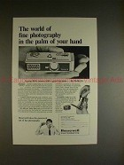 1966 Rollei 16 Camera Ad - In the Palm of Your Hand!!