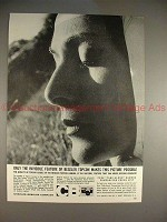 1959 Beseler Topcon Camera Ad - The Invisible Feature!