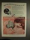 1958 Voigtlander Vitomatic Camera Ad - Shoot with Eyes!
