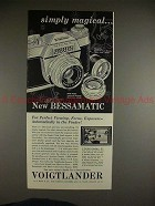 1959 Voigtlander Bessamatic Camera Ad - Simply Magical!