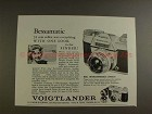 1959 Voigtlander Bessamatic Camera Ad - Sees Everything