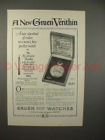 1923 Gruen No. A435 Verithin Watch Ad!