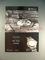 1996 Tag Heuer 6000 Series Watch Ad - Mind Game!