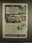 1940 International Harvester Truck Ad - Attilio Gatti