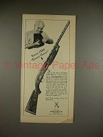 1950 Ithaca Featherlight Repeater Gun Ad!