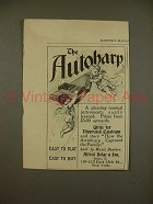1897 Alfred Dolge & Son Autoharp Ad - Easy to Play