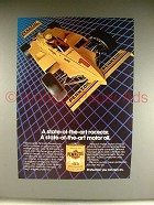 1983 Pennzoil Oil Ad w/ Rick Mears Indy Car!