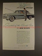 1955 DeSoto Car Ad - Smartest of the Smart Cars!!