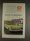 1957 Chevrolet Bel Air 4-door Sedan Ad, Quicksilver!!