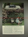1962 Ford Thunderbird Ad - What to Tell Your Wife!!!
