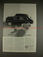 1963 MG Sports Sedan Ad - Two Buckets and a Bathtub!!