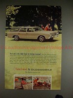 1964 Oldsmobile Vista-Cruiser Station Wagon Ad, NICE!!