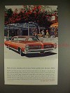 1964 Pontiac Bonneville Ad - So Many Left in Driveways!