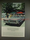 1965 Pontiac Catalina Convertible Ad - Lots of Luck!!