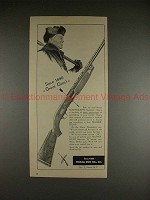 1951 Ithaca Gun Co. Featherlight Repeater Rifle Ad!!