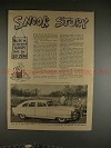 1952 Nash Airflyte Ad - #35 by Ed Zern, Snook Story!!