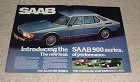 1979 Saab 900 Turbo 5-door Car 2pg Ad, Performance!!