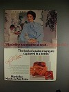 1982 Maybelline ManiCure Nail Color Ad w/ Lynda Carter!