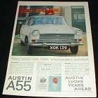 1959 Austin A55 Cambridge Mk II Car Ad, Comfort!!