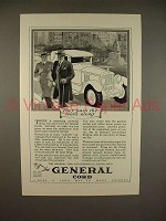 1926 General Cord Tire Ad - Pass the Word Along