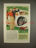 1933 General Dual Balloon Tire Ad - Millions!