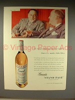 1957 Grant's Scotch Whisky Ad w/ Eric Linklater