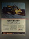 1984 Champion Copper Spark Plugs Ad w/ Al Unser Sr.!!