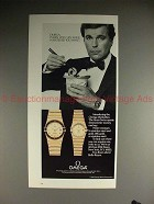 1984 Omega Manhattan Watch Ad - Have Whatever You Want!
