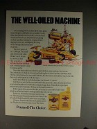 1985 Pennzoil ad w/ Rick Mears, The Well-Oiled Machine!