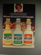1988 Wesson Oil Ad w/ Florence Henderson - Frying Right