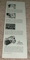 1953 Leica Camera Ad, World's Most Famous Camera!!