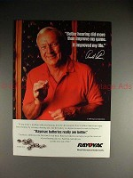 1993 Rayovac Battery Ad w/ Arnold Palmer, Improved!
