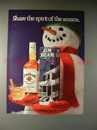 1983 Jim Beam Bourbon Whiskey Ad - Share Spirit